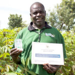 CSS Project supported farmer gets accolade for best Cassava Seed Entrepreneur